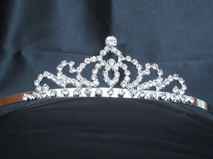 *Sale* Swarovski Rhinestone Crown Tiara