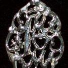 """#1 Mom"" pendant  .925 Sterling Silver"
