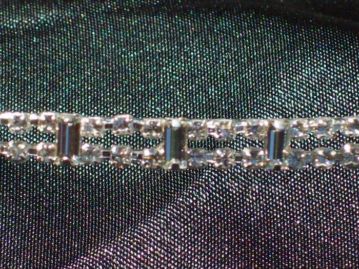 *Sale* Swarovski Crystal Baguette Headband