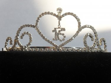 Sweetheart Sweet 16 Tiara