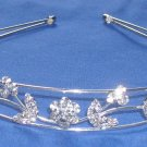 *SALE* Rhinestone Leaf & Flower Headband