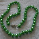 "18"" Green Sea Shell Pearl Necklace"