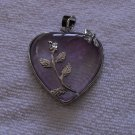 Heart Shaped Amethyst Pendant