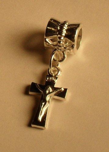 Silver Crucifix Charm