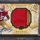 Michael Crabtree RC Auto 2009 Exquisite Collection Signature Patch 49ers Raiders BGS #/99
