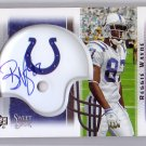 Reggie Wayne  2005 Sweet Spot Signatures Card #11-RW Colts