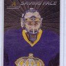 Jonathan Quick  Insert 2010-11 Pinnacle Saving Face #9 Kings