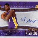 Andrew Bynum  RC Auto 2005-06 Trilogy 'Signs of Stardom' RC Autograph #SS-AN  Lakers