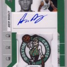 Avery Bradley 2010-11 Playoff Contenders Patches Autographed RC #118 Celtics