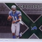 Calvin Johnson RC 2007 Leaf R&S Cross training #CT6 Lions #/100