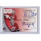 Cam Ward Martin Gerber Dual Autograph 2005-06 Hurricanes, Senators, Ducks, Leafs