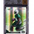Darrelle Revis Autographed RC 2007 Select Inscriptions Rookie #411 Jets Patriots #/50 BGS Pop 1