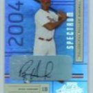 #/250 Ryan Howard Autographed 2004 Absolute Signature Spectrum #162 Phillies