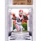 Knowshon Moreno RC 2009 Prestige White Jersey Variation SP #164B Broncos BGS Pop 4