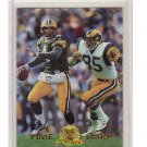 Brett Favre /Jack Youngblood 1996 CE President's Reserve Time Warp #6 SP Packers, Rams #/500