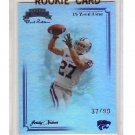 #/99 Jordy Nelson RC Packers 2008 Press Pass Bowl Edition