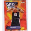 Tim Duncan 1998-99 Topps Chrome Season's Best Refractor #SB17 Spurs