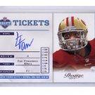 LaMichael James RC 49ers 2012 Prestige Draft Autographs #23