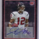 Jacoby Jones RC 2007 Bowman Chrome Autograph #BC105 RC Ravens, Texans