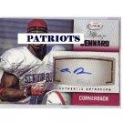 Alfonzo Dennard RC 2012 SAGE Autographs Red #A12 Patriots