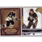 Sidney Crosby & Evgeni Malkin 2-Card Set comes housed in plastic case