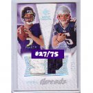 #/75 Joe Flacco Ravens RC 2008 SP Rookie Threads Dual Threads #DT-F0 Kevin O'Connell