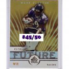 #/50 Mark Clayton Ravens 2005 UD Reflections Gold Future #292