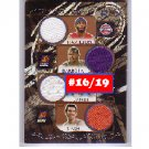 7 Relics 2006-07 Luxury Box #7R-9 Nash, Billups Gordon, Hamilton Clippers Bulls, Spurs #/19