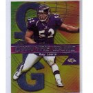 Ray Lewis Ravens 2000 Topps Chrome Own the Game Insert #OG27