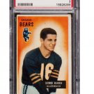 George Blanda 1955 Bowman #62 Bears, Raiders Hall of Fame PSA 3 VG