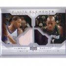 Kevin Garnett Tracy McGrady 2002-03 Upper Deck Finite Elements Dual Warm-Ups Celtics Magic