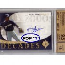 Rickie Weeks 2005 UD Ultimate Signature Decades #RW Brewers BGS 9.5/10 Pop 1