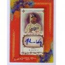 Matt Kemp 2010 Topps Allen & Ginter Autographs #AGA-MK Dodgers Padres