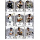 Yankees Lot 2012 Topps Triple Threads lot (10) New York Yankees  Ruth Mantle Gehrig
