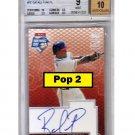 Rafael Furcal Auto 2003 Topps Opening Day Autographs #RF Cardinals, Dodgers, Braves Pop 2