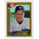Joe Torre 2002 Topps Chrome Refractor #305 Yankees, Dodgers
