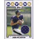 Joe Flacco 2008 Bowman Player-worm Jersey Relic RC #RPR-JF Ravens