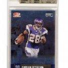 Adrian Peterson 2008 Playoff Super Bowl XLII Card Show #11 Vikings BGS 9.5