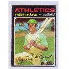 Reggie Jackson 1971 Topps #20 VG A's Yankees  HOF