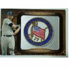 Thurman Munson 2009 Topps Historical Commemorative Patch Yankees 71 All-Star