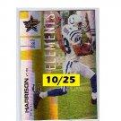 Marvin Harrison #/25 HOF 2007 Leaf Elements #104 Colts