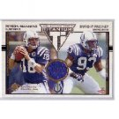 Dwight Freeney RC Jersey #/750 2002 Titanium #132