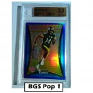 Limas Sweed 2008 Bowman Chrome Blue Refractors #BC94 #/150 Steelers BGS 9.5 RC Pop 1