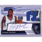 Jameer Nelson 2004-05 SPx #124 Autographed RC Magic