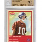 Eli Manning RC 2004 Fleer Tradition #331 BGS 9.5 Population 24 Giants