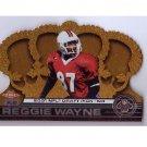 Reggie Wayne 2001 Crown Royale #217  RC  Colts