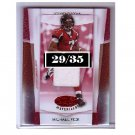 Michael Vick 2007 Leaf Certified Materials Mirror Gold Jersey #37 Steelers, Falcons, Eagles #/35