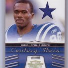 Marvin Harrison #/25 HOF 2006 Threads Century Stars Prime Jersey #CS-9 Colts