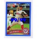 Roy Oswalt  2011 Topps Chrome Blue Refractors #125 Phillies, Astros #99/99