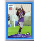 Percy Harvin RC 2009 Topps Chrome Blue Refractor #TC155 Vikings, Seahawks Rookie